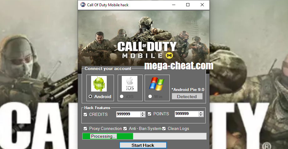 Call Of Duty Mobile Hack Cheat Tool Mod Apk Generator