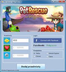 Hacki które działają !: Pet Rescue Saga hack
