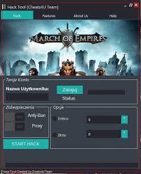 March of Empires Hack na Srebro i Złoto - Nowość 2017 | Złoto